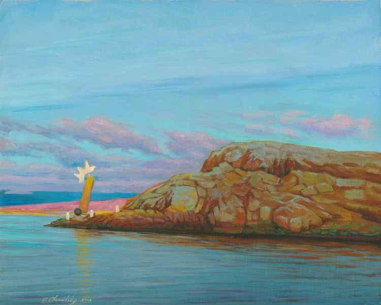 Kladesholmen island -