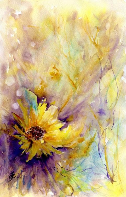 Honesty and Sunflower - Image 0