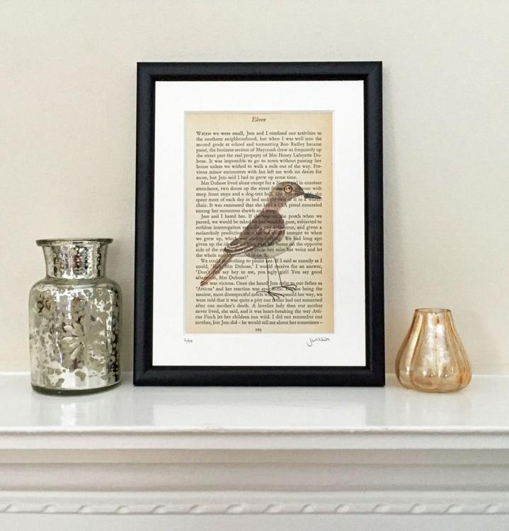 Mockingbird - Framed - Image 0