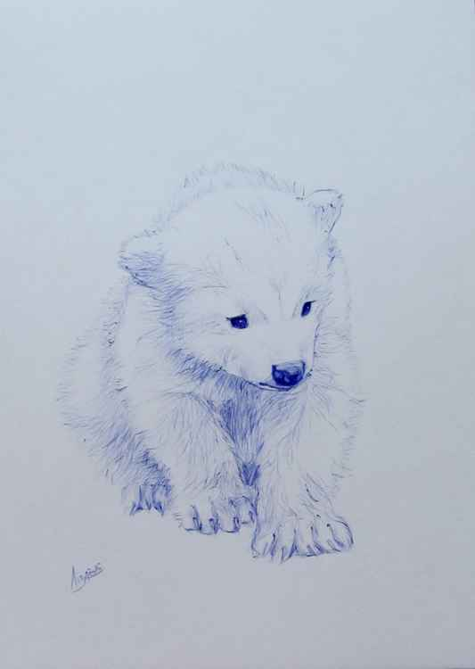 The white bear -