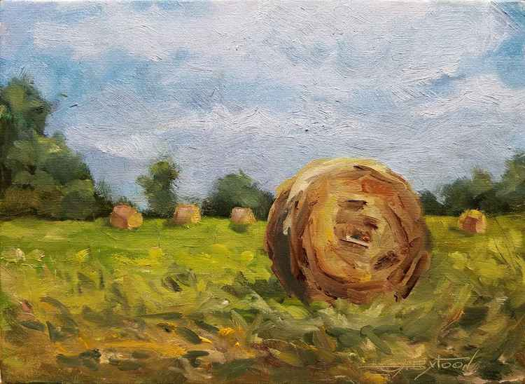 A Rural Landscape Oil