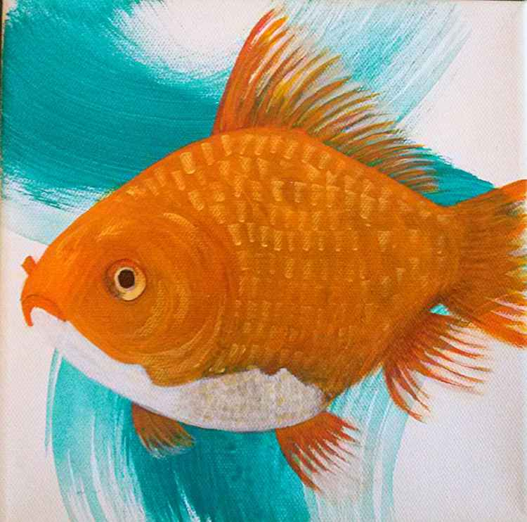 Splash Series: #1- Goldfish -