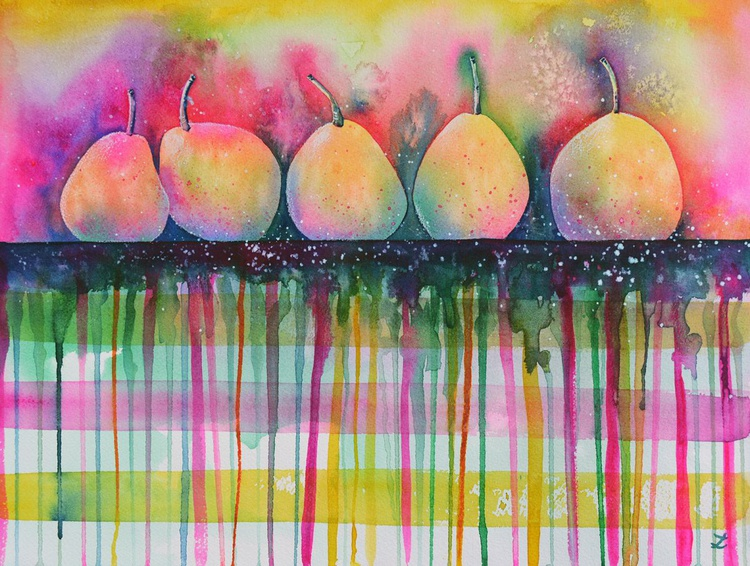 Pears on the Table - Image 0