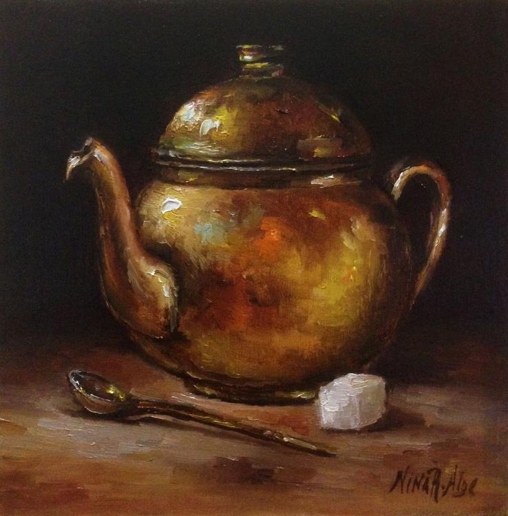 Copper Teapot - Image 0