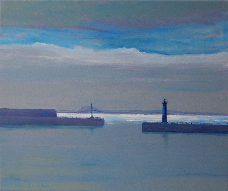 Calm Water, Anstruther Harbour, Fife, Scotland. - Image 0