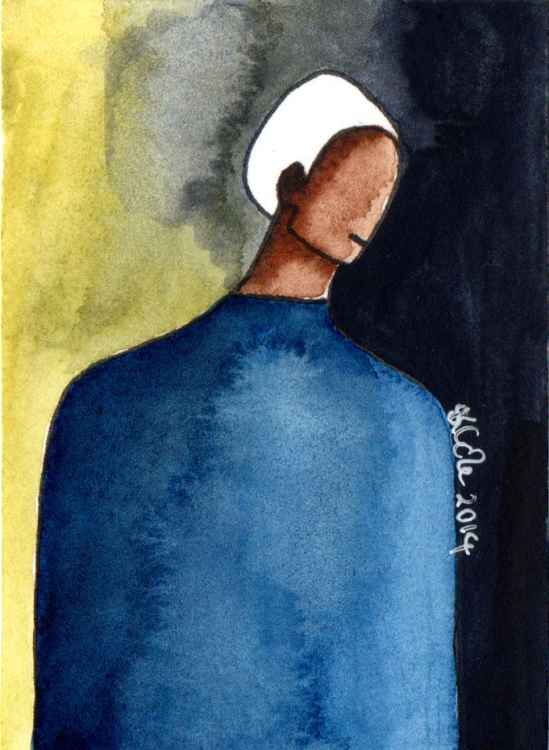 'He Knew' Original Watercolour Painting -