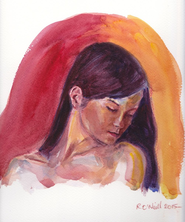 portrait of a young woman - Image 0