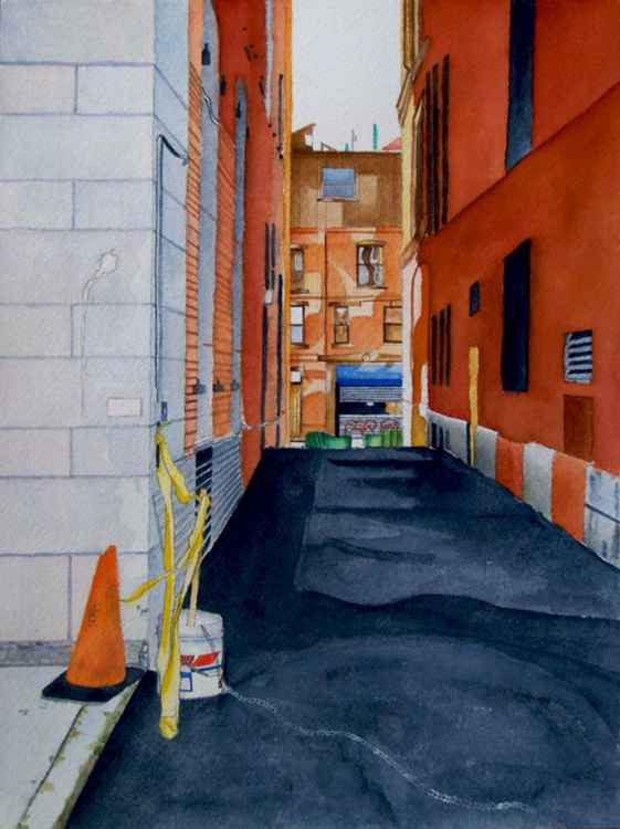 A Boston Alley -