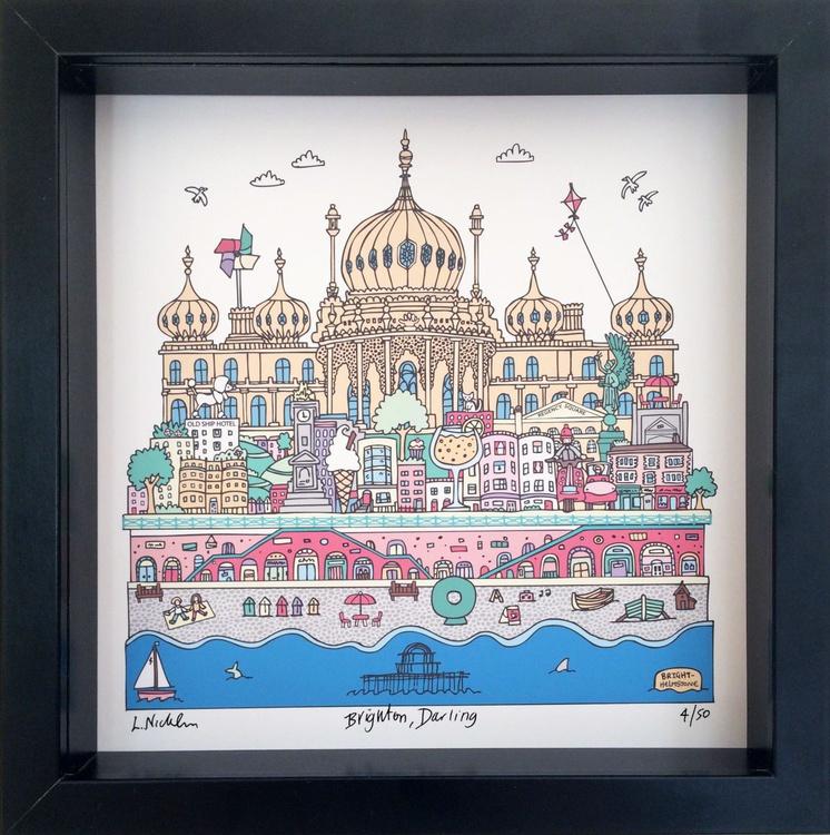 Brighton, Darling Framed - Image 0