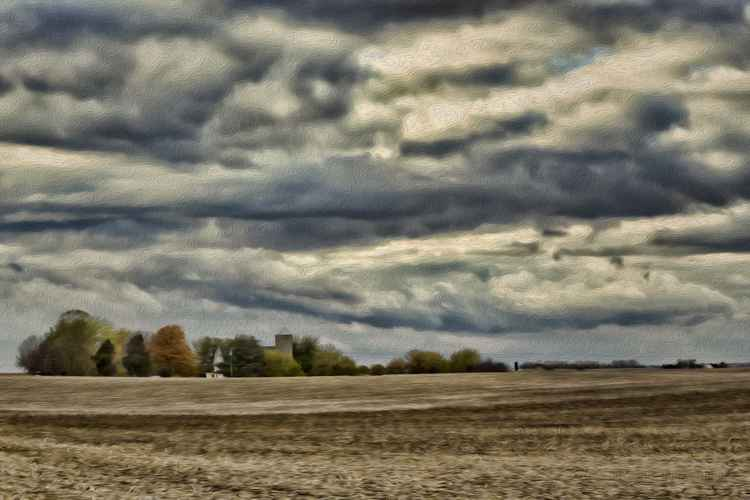 October Farmland -