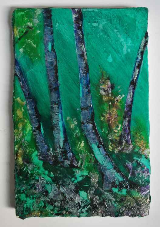 Blue Green Trees -