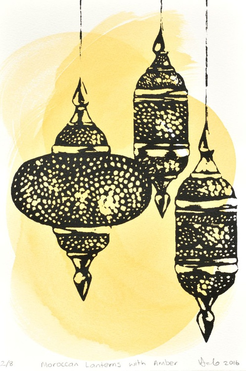 Moroccan Lanterns with Amber - Image 0