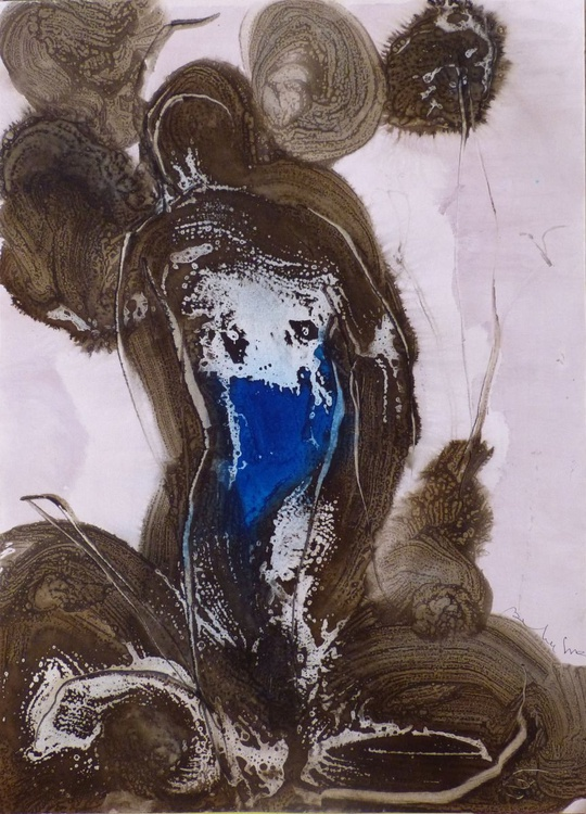 Ink on Paper #273, 58x42 cm - Image 0