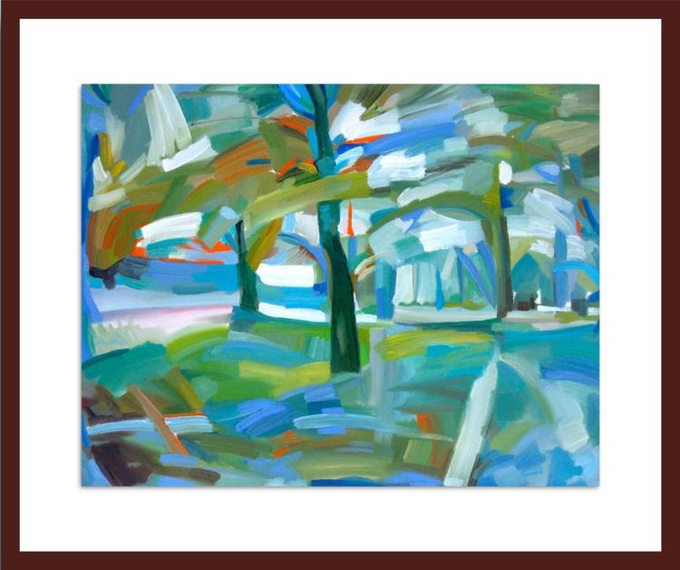 Impressionist Landscape, IV - Image 0