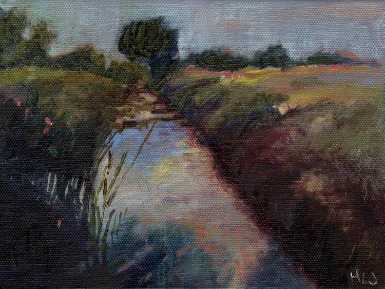 Miniature #4 (Sunset River) - Image 0