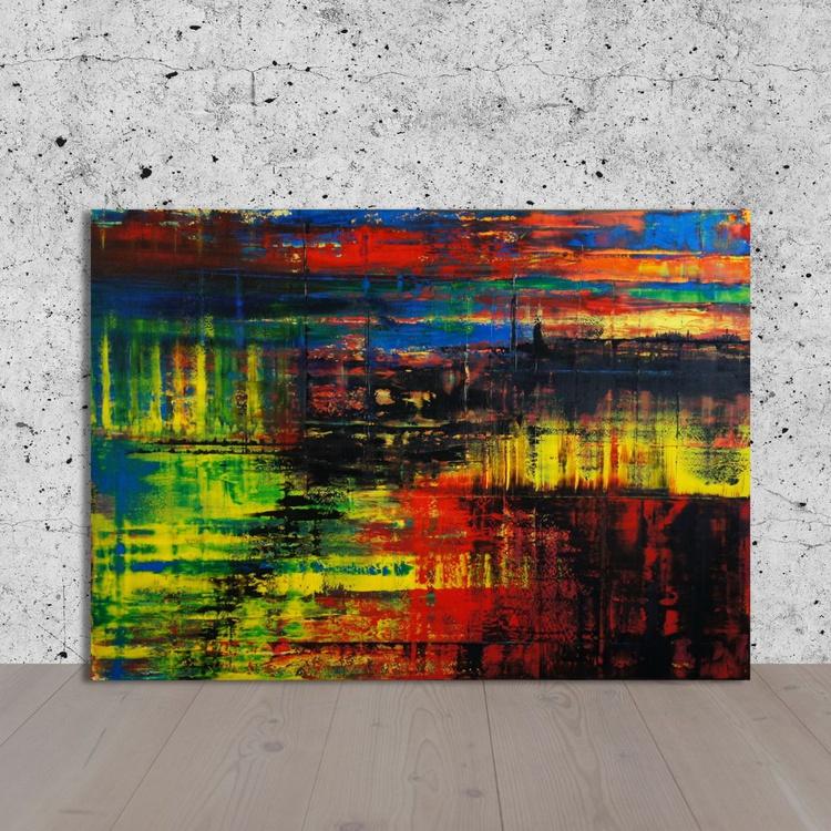 New York City (140 x 100 cm) - Image 0