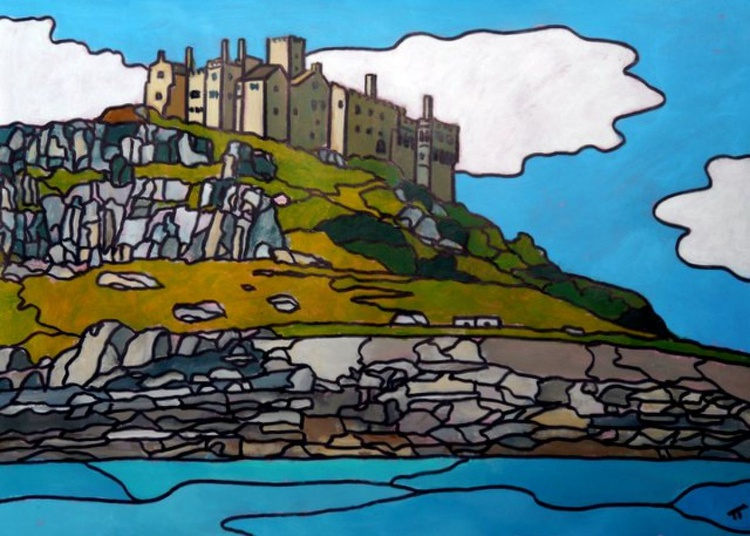 The back of the Mount (St Michael's Mount). - Image 0