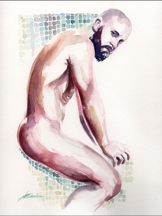 Bearded Beauty - Male Figure - Image 0