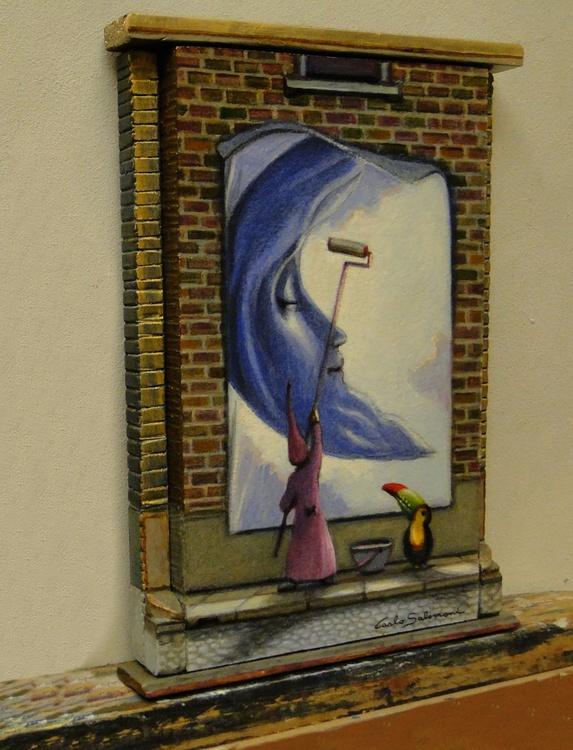 MOONLIGHT - (framed 3D effect ) - Image 0