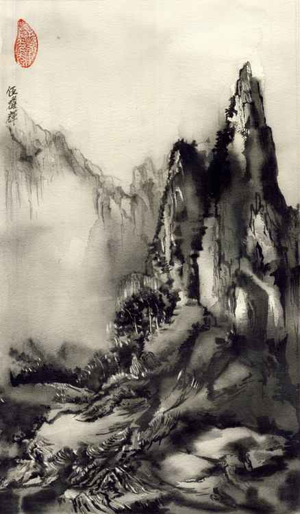 Chinese mountain -