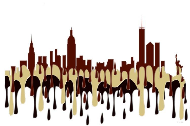 New York City, New York Skyline Coffee Cream - Image 0