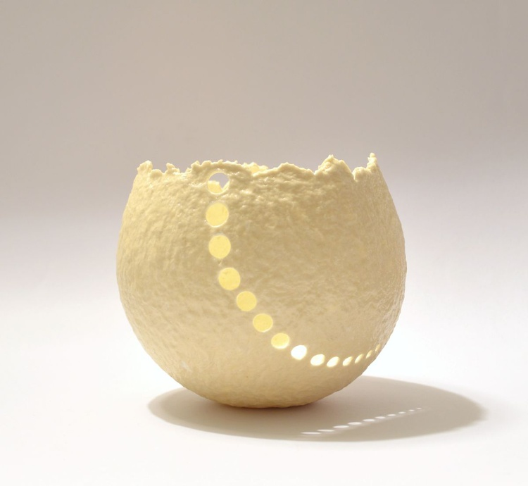 "ONE OF A KIND DECORATIVE PAPER BOWL Name ""MOON 1"" - Image 0"