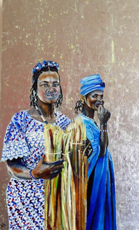 Young Women in Djenne, Mali - Image 0