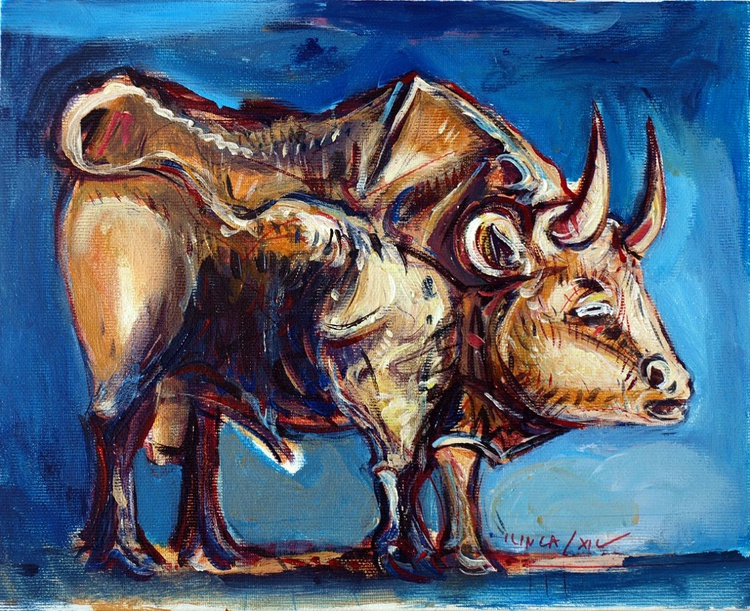 Bull profile - Image 0