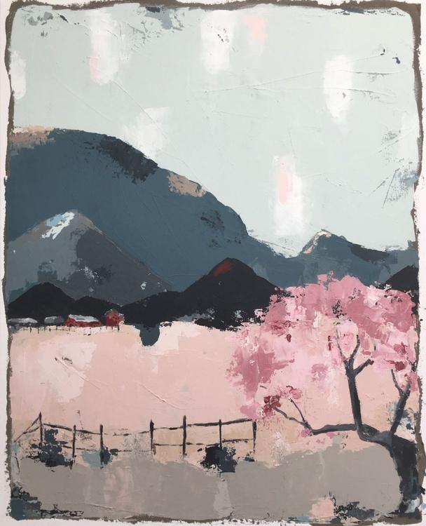 MTN 115, Landscape Painting - Image 0