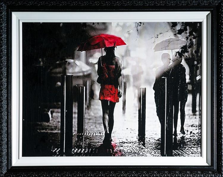 'Walking in the rain' - Image 0