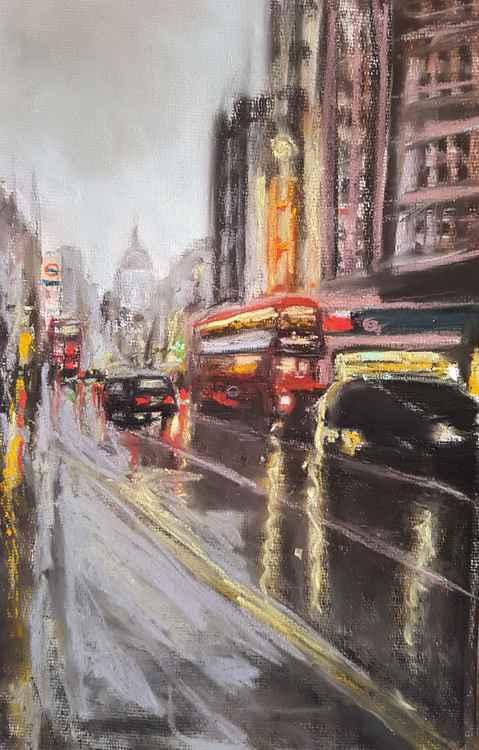 Fleet Street Rain 3