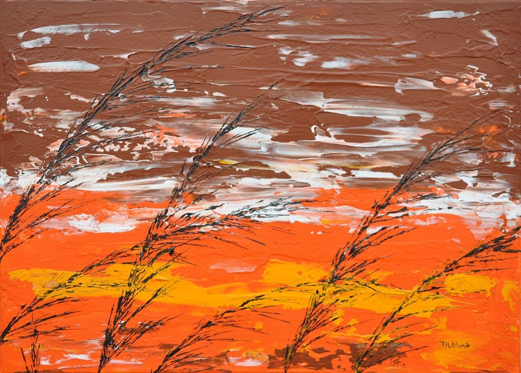 Grass In Brown Color - Image 0