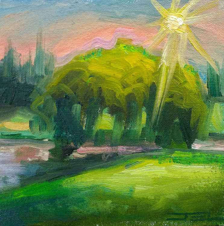The Green Glow -