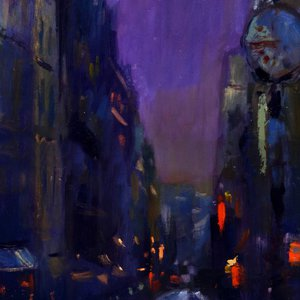 Paris Nocturne by Andre Pallat