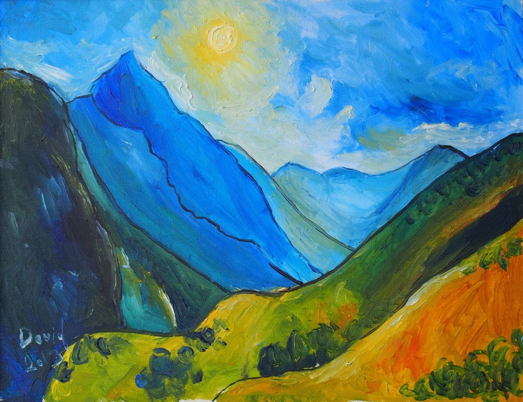 Landscape With Mountains - Image 0