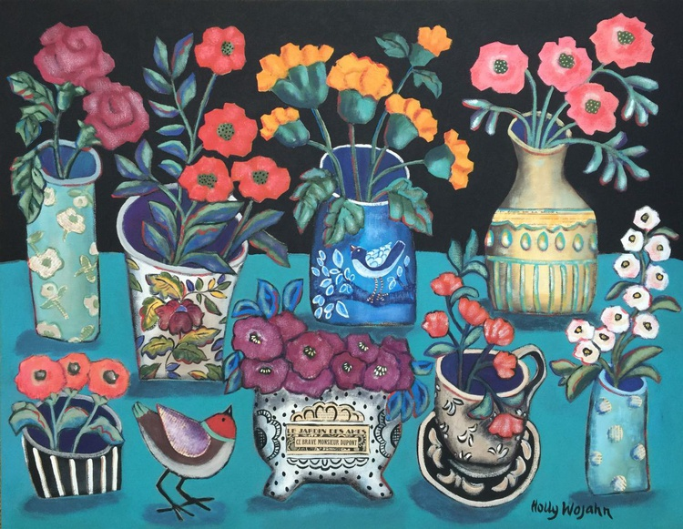 """Eight Bouquets and a Chirp"" - Image 0"