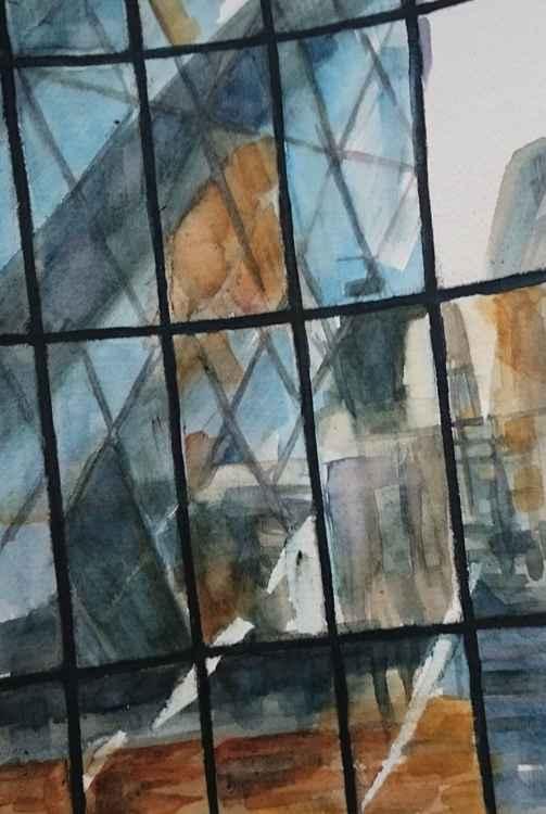 Window Reflection Study 1