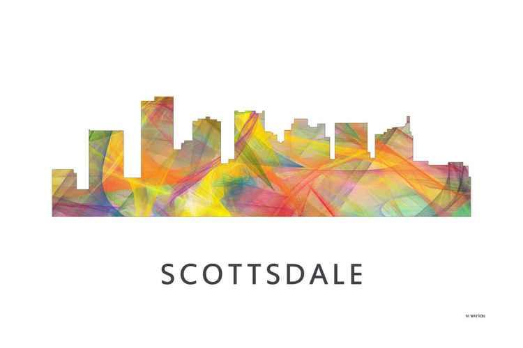 Scottsdale Arizona Skyline WB1 -