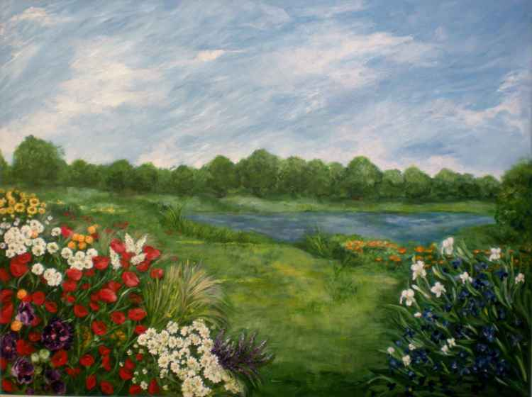 Field of flowers -