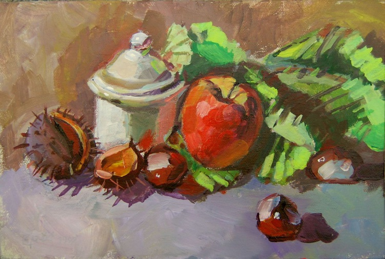 still life with chestnuts - Image 0