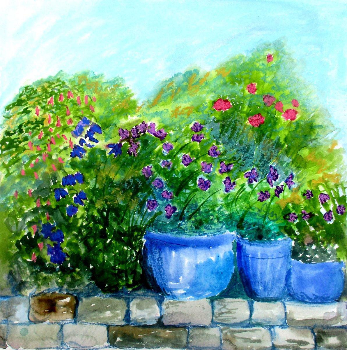 Midsummer Flowers By Amanda Horvath Artfinder
