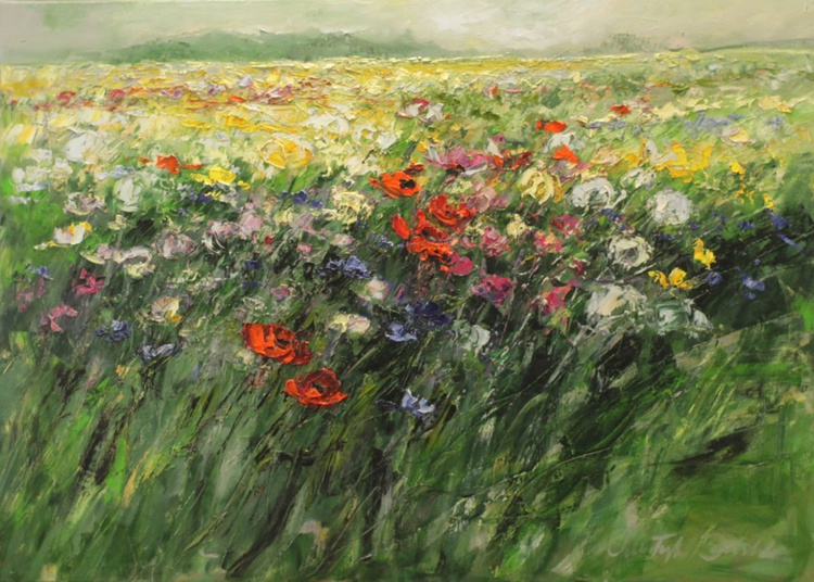 Meadow on to the horizon - Image 0