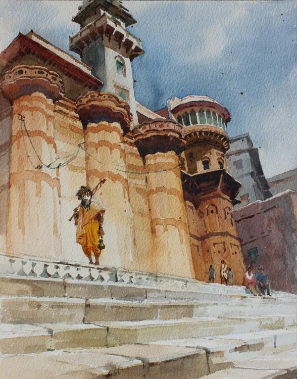 Banaras Ghat 1 - Image 0