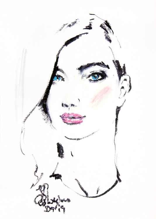 Sketch#2  Oil pastel drawing -