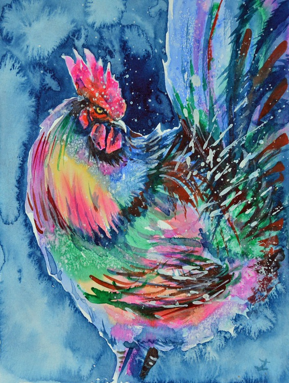 Proud Rooster - Image 0