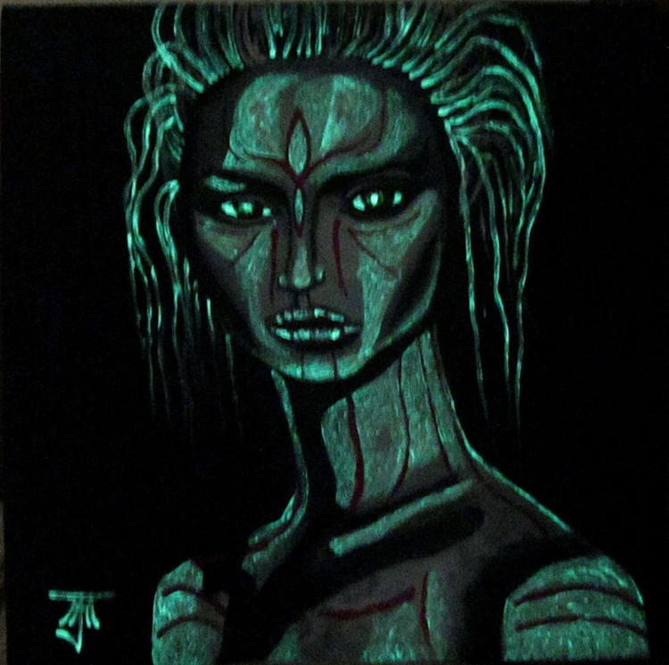 Anomalous Humanoid 02 (Glow in the Dark) - Image 0