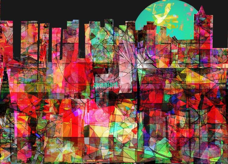 Cityscape 32, Urban jungle - Image 0