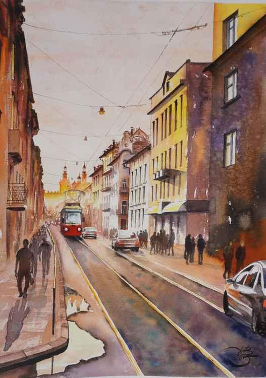 Yellow city -