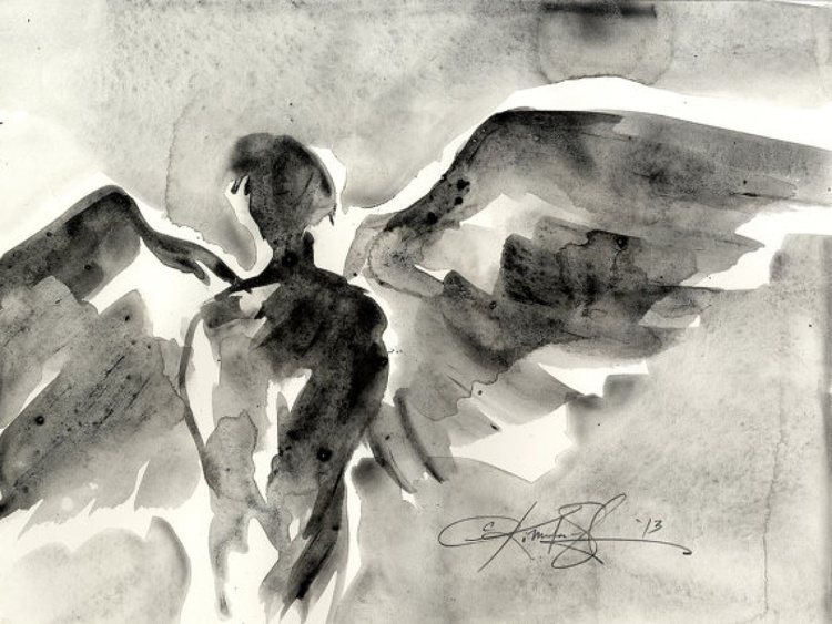 From the Angel Abstract Series No. 107 - Image 0