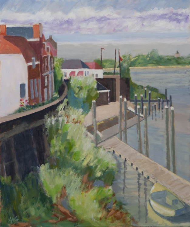 Woudrichem citywall - Image 0